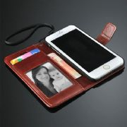 iPhone 5C Leather Wallet Stand Case Cover